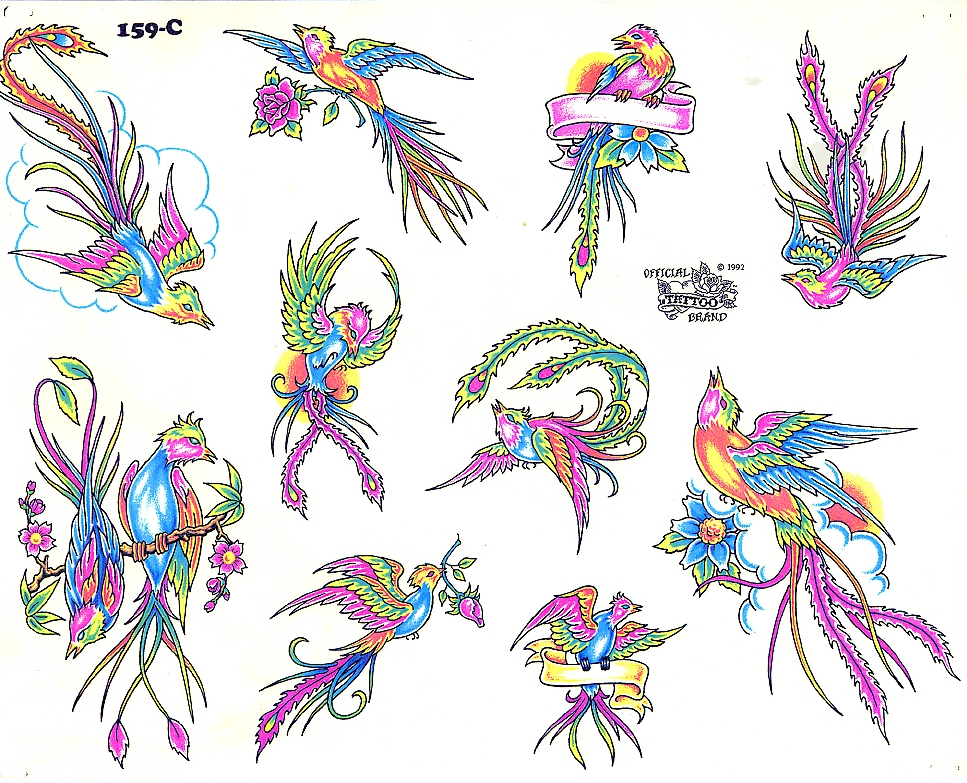 Тату райских птиц значения