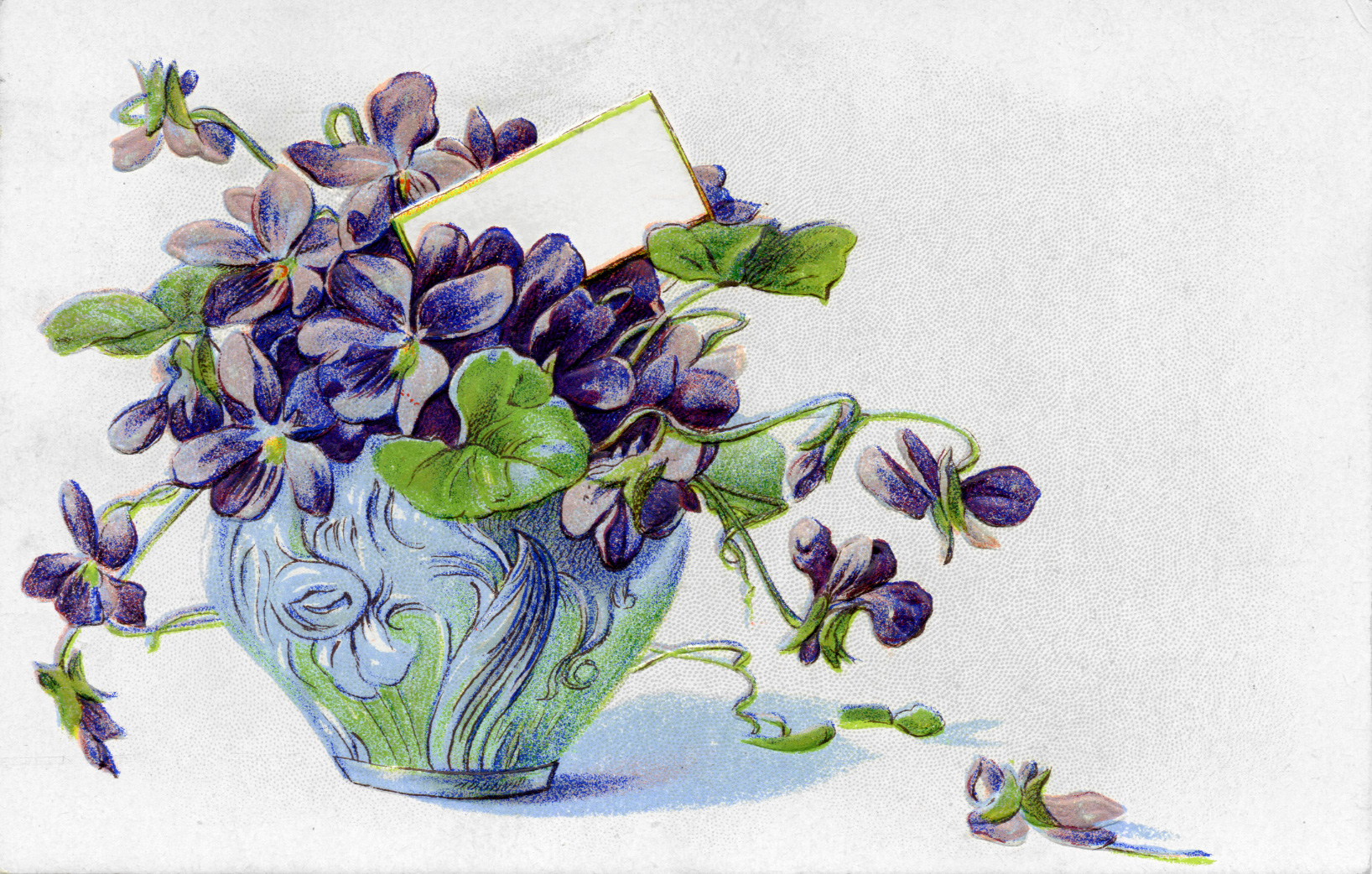 Слова к подарку цветок фиалка
