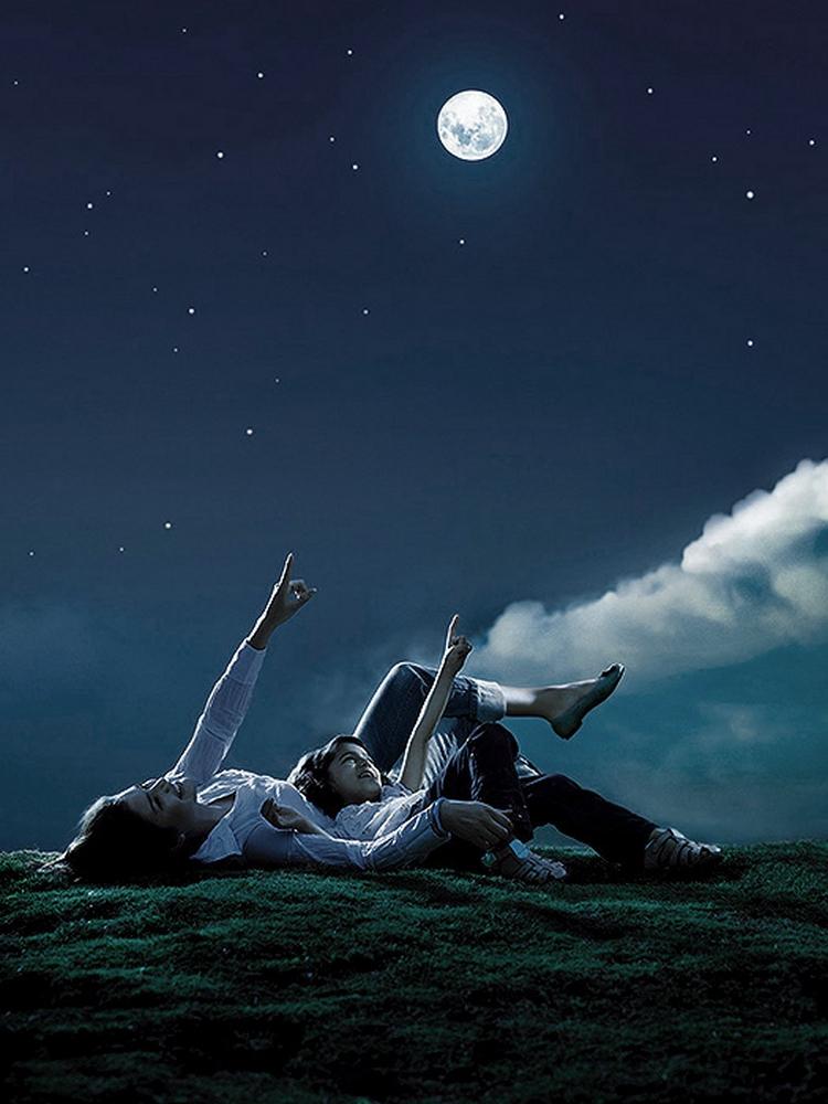 Картинки ночью под звездами перед сном