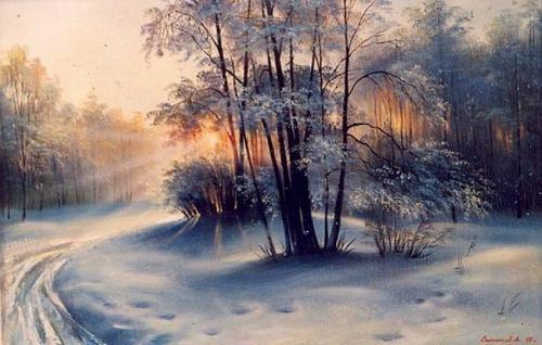 Художник Андрей Санников (62 работ)