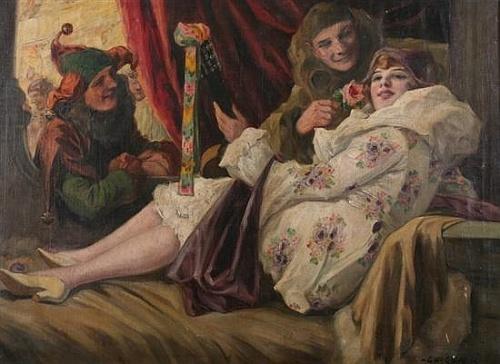 Художник Richard Geiger (1870-1945) (39 работ)