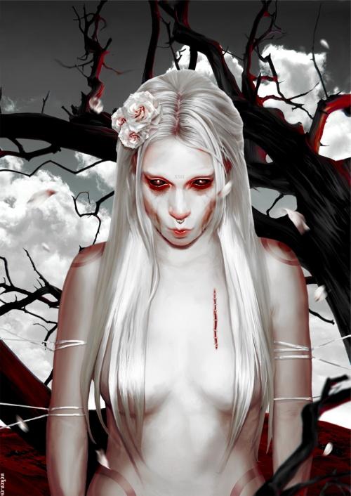 Nekro Art & Illustration (81 работ)