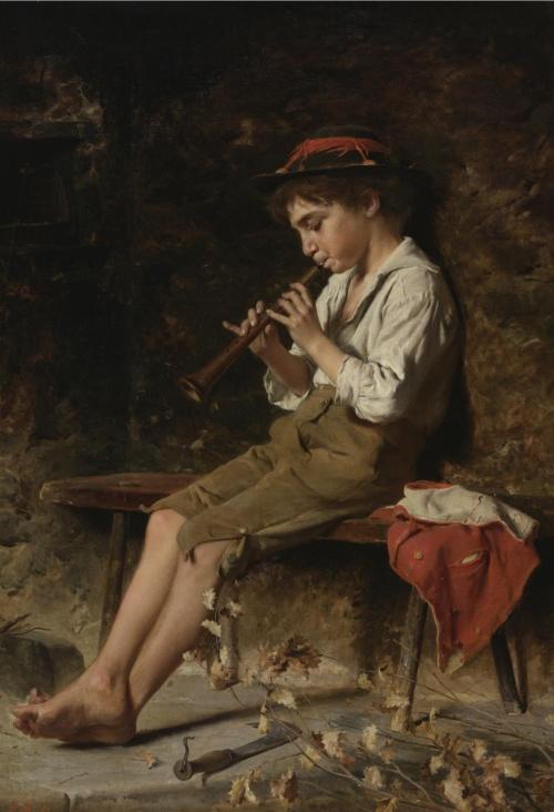 Итальянский художник Luigi Bechi (1830-1919) (40 работ)