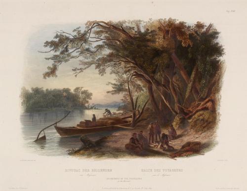 Karl Bodmer (фр. Charles Bodmer) (1809 - 1893) (22 работ) (3 часть)