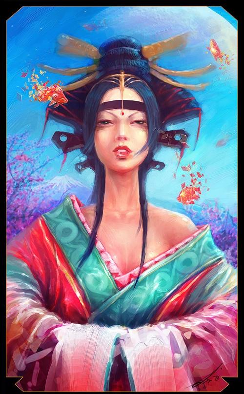 Сборник картин мастеров цифрового арта (413 работ)