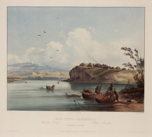Karl Bodmer (фр. Charles Bodmer) (1809 - 1893) (13 работ) (4 часть)