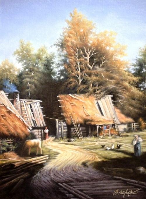 Художник Строгий - старые добрые времена (41 работ)
