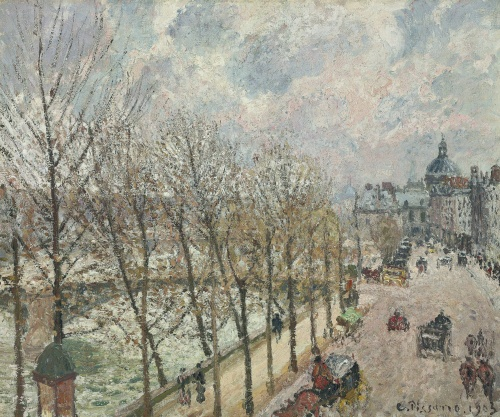 The Art of Camille Pissarro (130 работ) (5 часть)