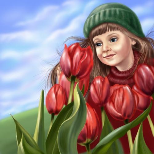 Иллюстратор Солодун Лена (69 работ)