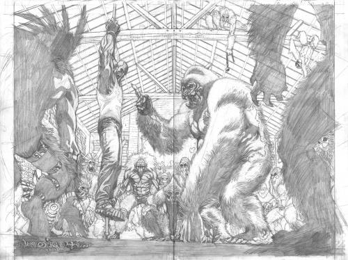Коллекция работ американского художника Micah Gunnell (159 работ)