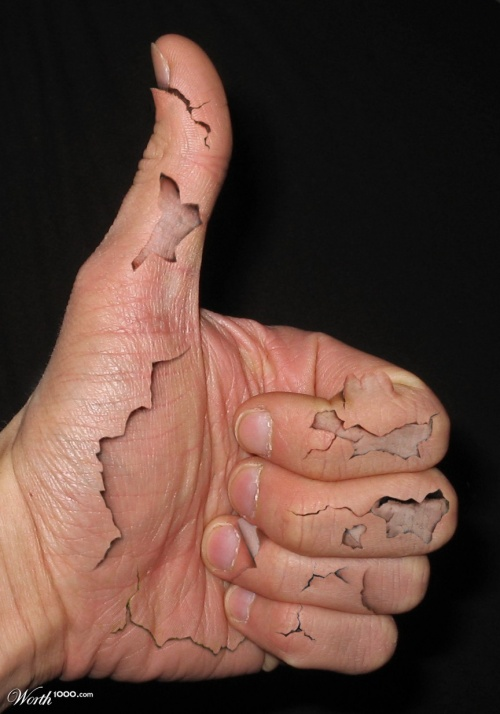 Peeling и Cracking Галлерея от Worth1000 (85 фото)