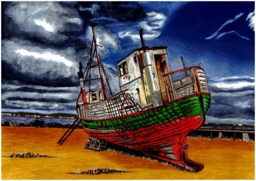 Коллекция работ английского художника John Hayes (59 работ)