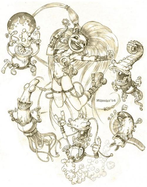 Art by Ferdinand Kreozot (124 работ)