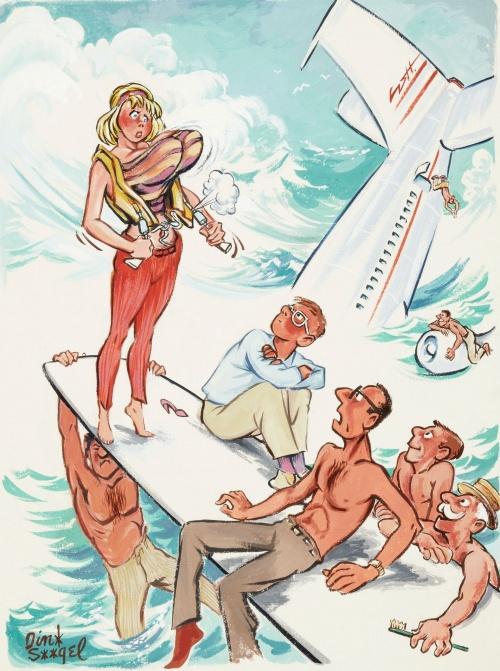 Dink Siegel. Playboy cartoon illustrations (28 работ)