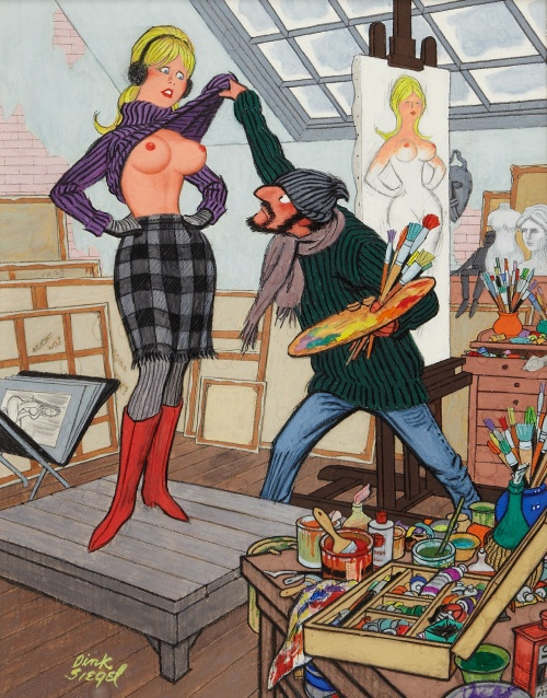 Dink Siegel. Playboy cartoon illustrations (28 работ)