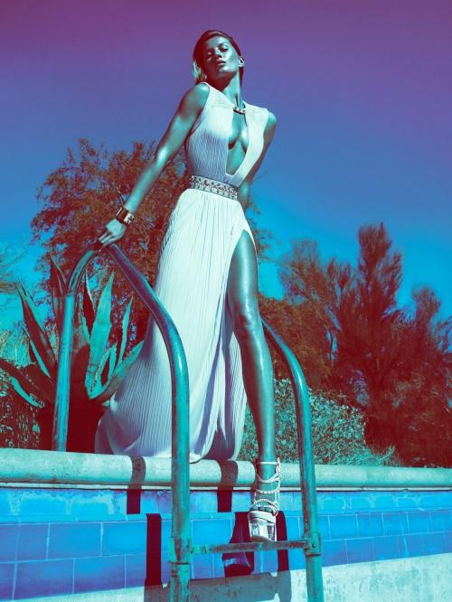 Gisele Bьndchen - Versace Spring/Summer 2012 Campaign (
