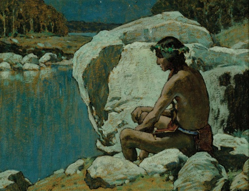 Eanger Irving Couse (1866-1936) (106 работ)