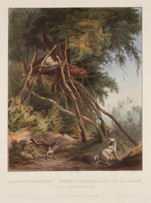 Karl Bodmer (фр. Charles Bodmer) (1809 - 1893) (13 работ) (5 часть)