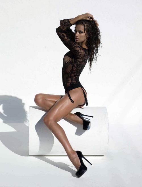 Irina Sheik - Photoshoot for GQ/South Africa (11 фото)