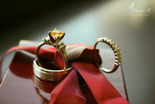 40 идей для фотографирования свадебных колец (40 фото)