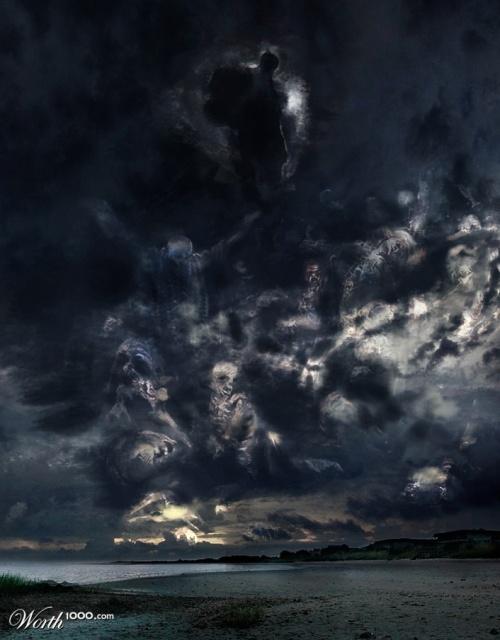 Облачные иллюстрации от Worth1000 (67 фото)