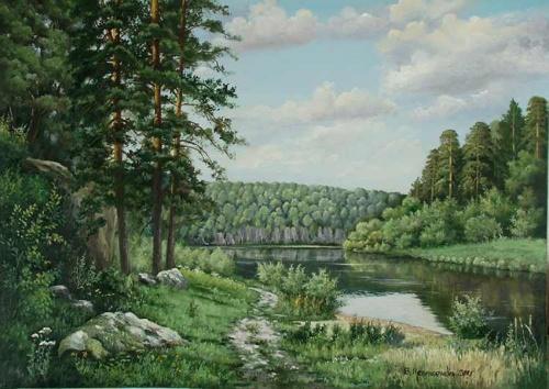 Художник Виктор Несмеянов (47 работ)