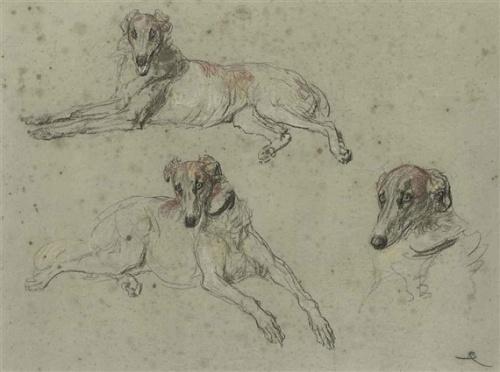 Английский живописец Briton Riviere (1840 – 1920) (100 работ)