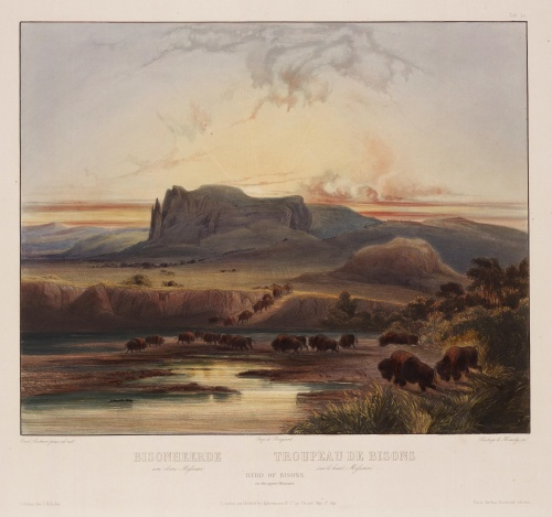 Karl Bodmer (фр. Charles Bodmer) (1809 - 1893) (7 работ) (6 часть)