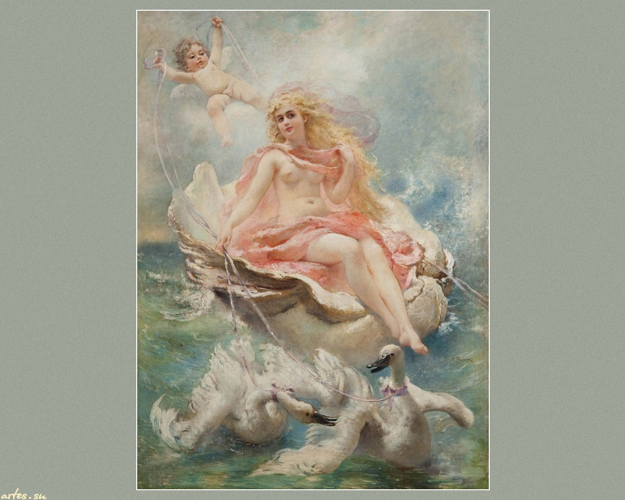 аудиторий, декупажные картинки античные боги и ангелы него