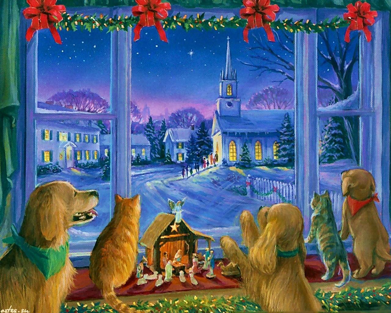 может картинки на тему рождественское чудо всей