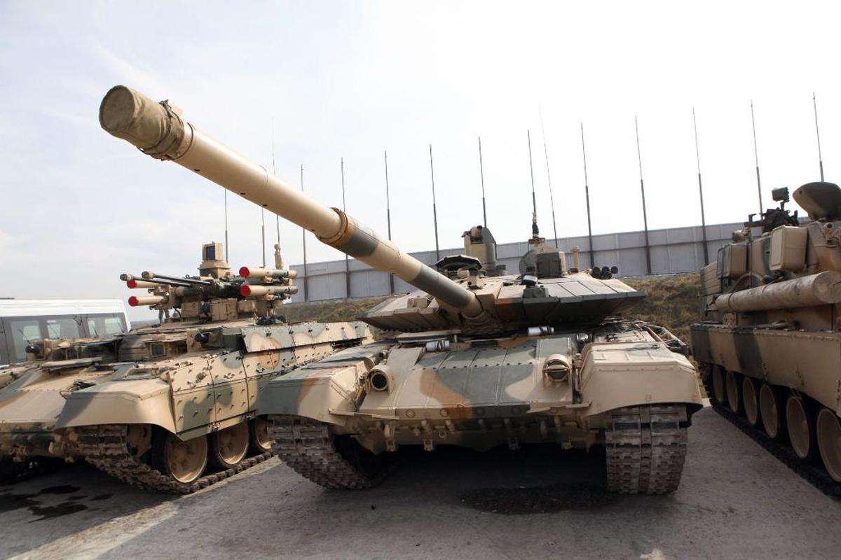 Модернизированный вариант танка т 90а