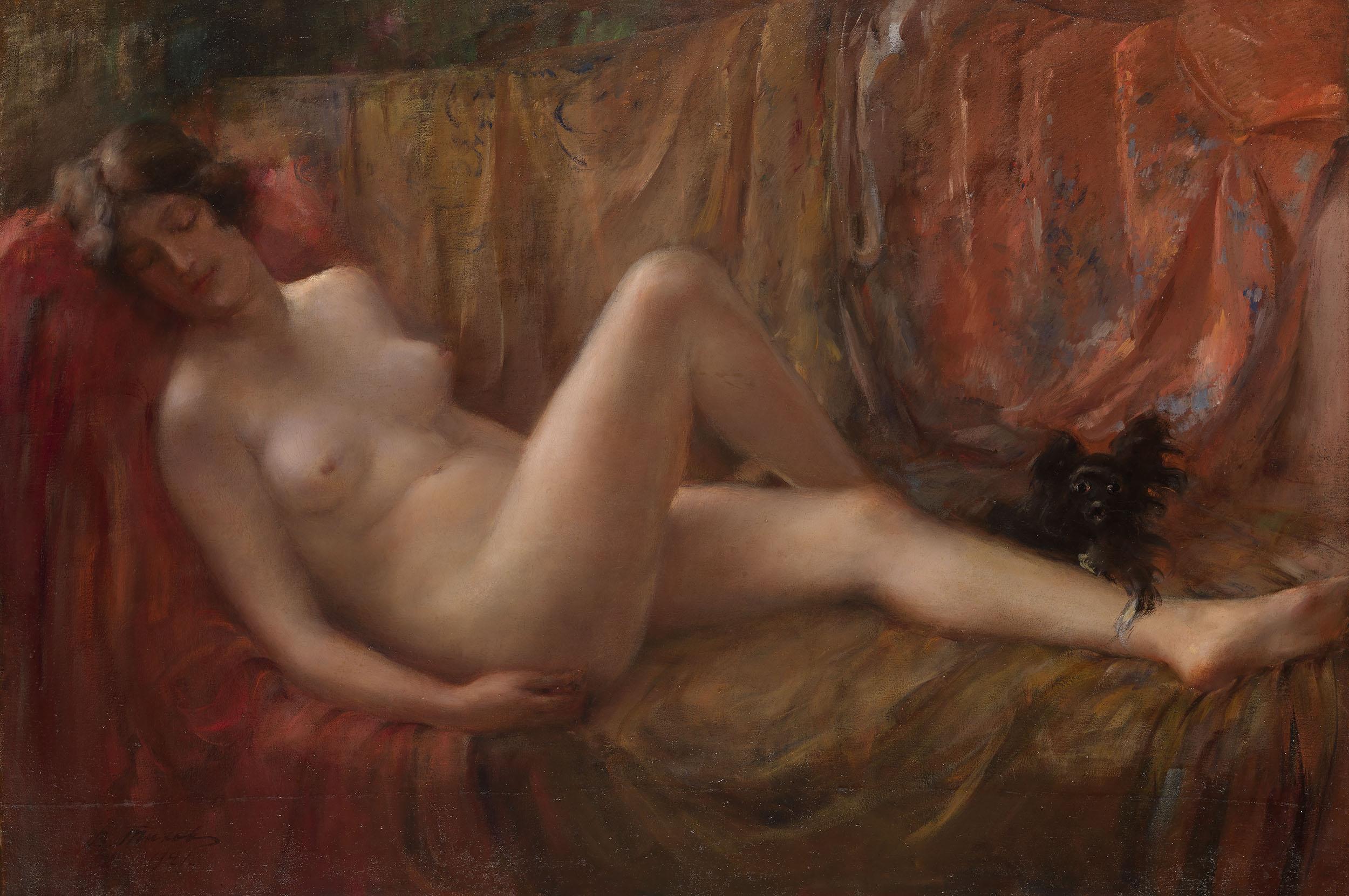 Эротика в русской живописи 19 фотография