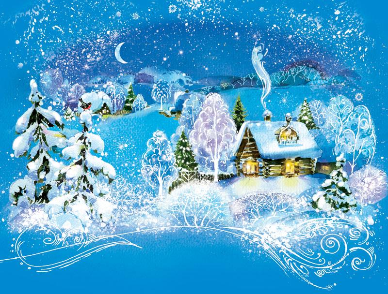 зимние открытки к новому году позволило выгадать массу