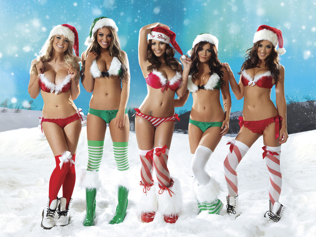 Christmas erotic nude woman's wallpaper hentai pictures