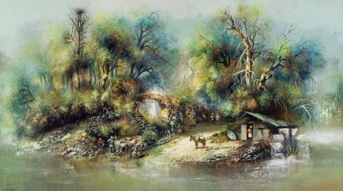 Важа Месхи. Певец старого Тбилиси (28 работ)
