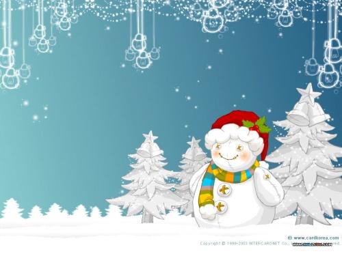 Snowman illustration \ Иллюстрации со снеговиком (27 работ)