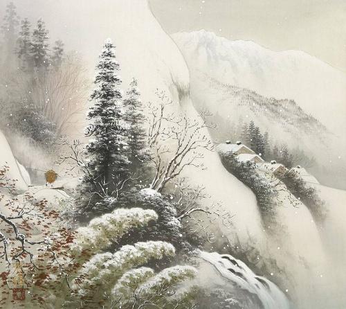 Японский художник Koukei Kojima (48 работ)