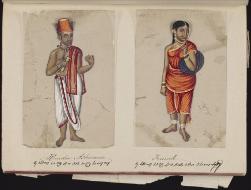 Seventy-two Specimens of Castes in India (1837) (35 работ) (1 часть)