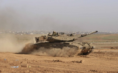 Основной боевой танк армии Израиля - Merkava (109 фото)