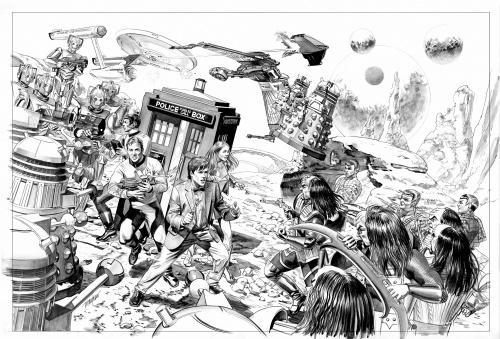 Иллюстрации Mike Mayhew (38 работ)