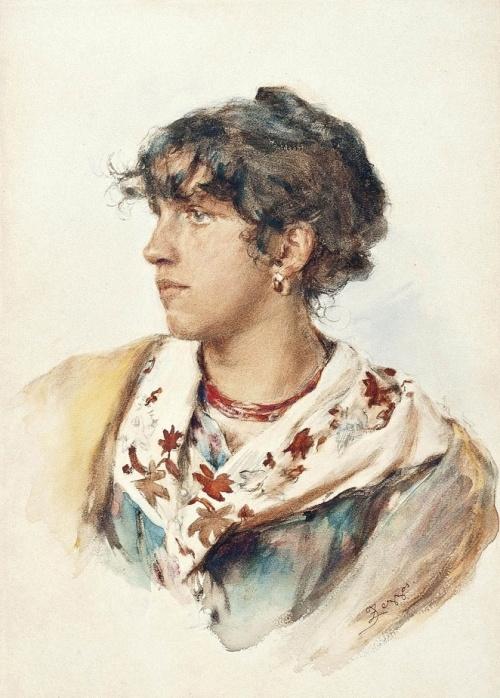 Итальянский художник Zezzos Alessandro (1848-1913) (30 работ)