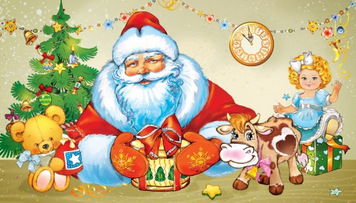 Новогодние открытки. Иллюстратор Наташа Табатчикова (38 открыток)