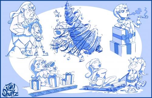 Иллюстратор Jay Shultz (210 работ)