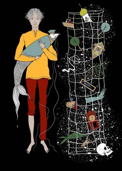 Иллюстратор Юлия Валеева (128 работ)