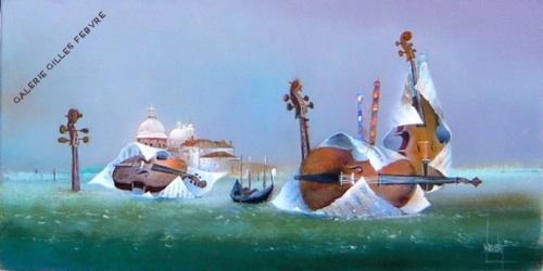 Художник Bernard Louedin (60 работ)