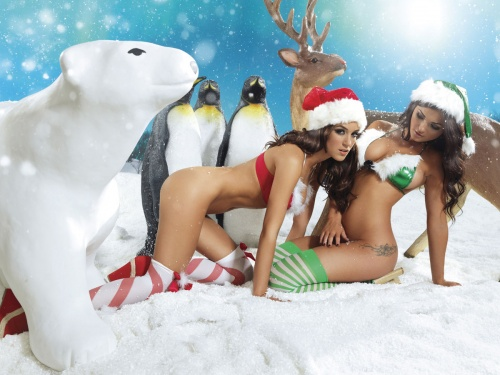 Nuts Xmas 2011 Outtakes (55 фото) (эротика)