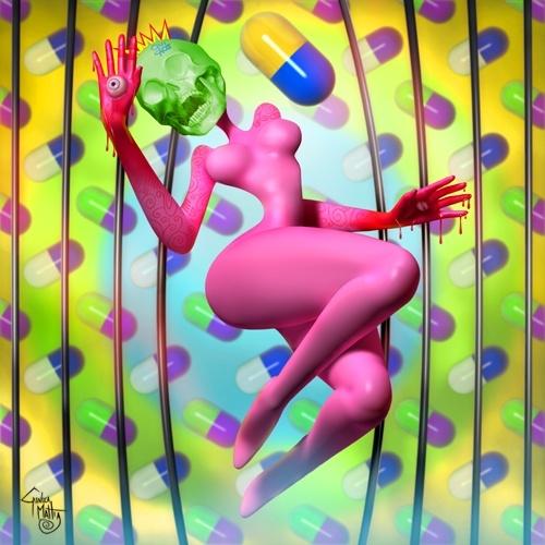 Иллюстрации Gianluca Mattia (48 работ)