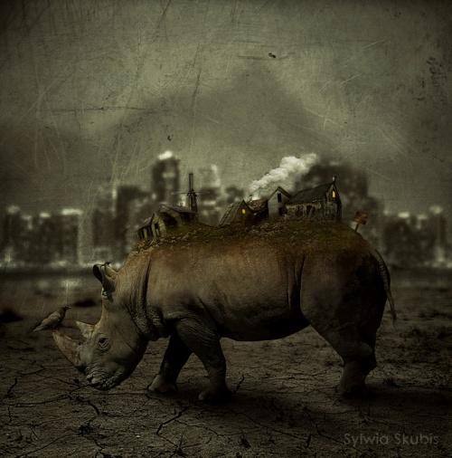 Фото - манипуляции дизайнера из Польши - Сильвии Скубис (Sylwia Skubis) (96 работ)