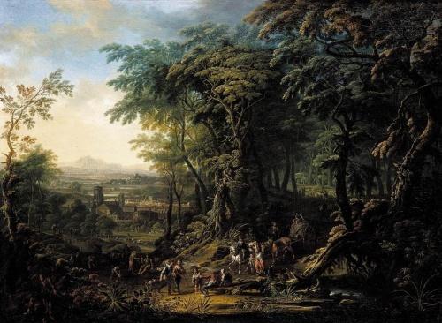 Австрийский художник Franz Christoph Janneck (1703–1761) (38 работ)