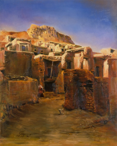 Иранский художник - самоучка Morteza Katouzian (151 работ)